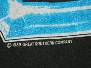 1989 LA GUNS NO MERCY TOUR VINTAGE 80S T SHIRT XL GLAM n roses