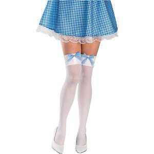 Sexy White Thigh Hi High Nylons Country Girl Dorothy