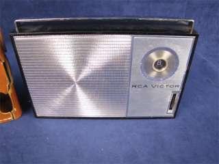 Vintage RCA Victor 1 RG 41 Transistor Radio Orig. Case