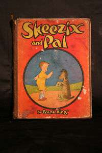 Skeezix and Pal 1925 Rare Illustrated Book Frank King