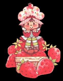 STRAWBERRY SHORTCAKE PHOTO FRAME Picture Holder NEW