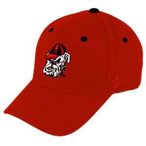 Zephyr Georgia Bulldogs Red Toddler ZFit Hat:  Sports