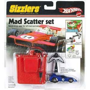 Hot Wheels Mad Scatter Sizzlers Car and Goose Pump Charger