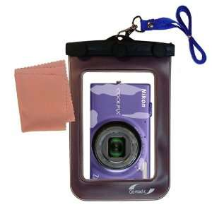 Gomadic Clean n Dry Waterproof Camera Case for the Nikon Coolpix S6100