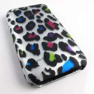 WILD LEOPARD HARD CASE APPLE IPHONE 3G 3GS ACCESSORY