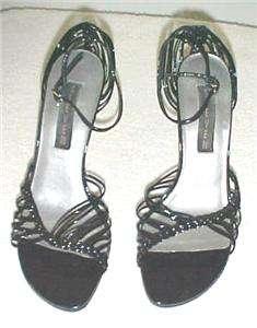 Black Strappy High Heel Sandal Size 7.5M by Steven