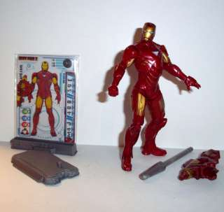 Marvel Universe 2010 IRON MAN #10 movie 2 mark IV 4