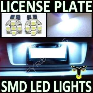 WHITE LED LICENSE PLATE TAG LIGHT BULBS #Z1