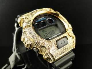 SHOCK/G SHOCK 6900 MENS GOLD DIAMOND WATCH JOE RODEO