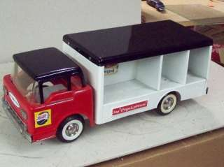 1960s Nylint Pepsi   Cola Truck & cases Awesome !