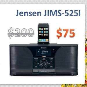 JENSEN JiMS 525i Docking Digital HD Radio System For iPhone and iPod