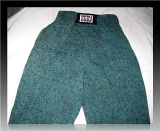 80s Green Baggy VELCRO BODYBUILDING Beach Bod MUSCLE PANTS L