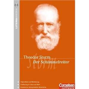 Der Schimmelreiter, 1 CD ROM Originaltext, Interpretation, Biographie
