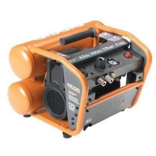 RIDGID 4.5 Gallon Electric Air Compressor (Reconditioned) OF45175RB at
