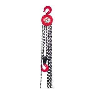 Milwaukee 3 Ton 20 Ft. Hand Chain Hoist 9679 20