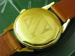 VINTAGE RARE TISSOT 14K SOILD GOLD CAL.28.5 BUMPER AUTO MENS WATCH