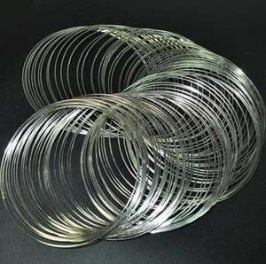Free ship memory wire for bracelet bangle cuff 65mm