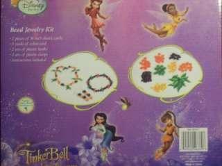 New Disney Fairies Tinkerbell Bead Jewelry Kit