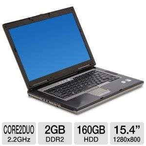 Dell Latitude D830 Notebook PC   Intel Core 2 Duo 2.2GHz, 2GB DDR2