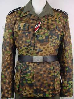 WW2 German Dot 44 Camo Field Tunic (un washed) S XXL