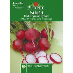 Burpee Radish Red Emperor Hybrid Seed 66318 at The Home Depot