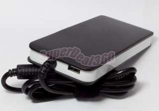 SLIM AUTO UNIVERSAL LAPTOP POWER ADAPTER W/ USB CHARGER