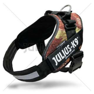 Julius K9 IDC power harness, all sizes, 11 colors, NEW!