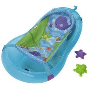 Summer Infant Baby Bath Tub Center Shower Pink Bather
