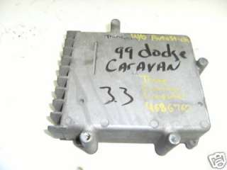 99 dodge caravan transmission computer 4686760