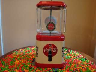 COCA COLA* Gumball & Candy Vending Machine Soda Fountain Sign