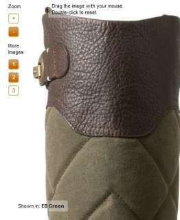 Eddie Bauer Womens Signature Quilted Leather Equestrian Riding Boots 6