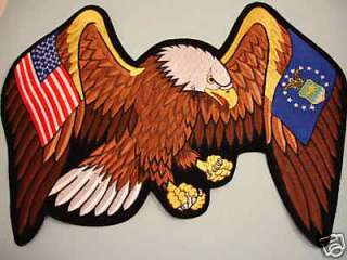 HUGE 13.5 PATCH United States Air Force American Eagle