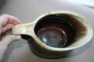 No. 365 McCoy USA Brown Drip Pitcher Pottery |