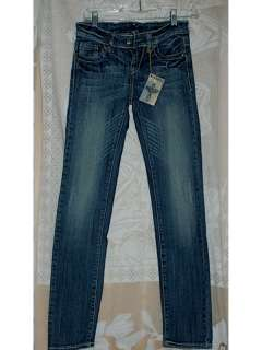 angel jeans 5 pocket skinny blue jean size 26