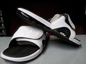 487332 100] Mens Nike Air LeBron Slide White Black Freegum Scarface