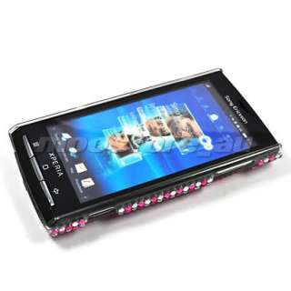 BLING RHINESTONE CASE COVER SONY ERICSSON XPERIA X10 08