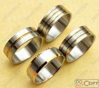 Wholesale lots 50 18K gold & Stainless steel Rings free