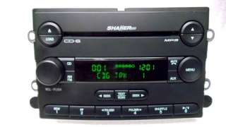 NEW 05 06 Ford MUSTANG 6 Disc CD Changer Player Aux  SHAKER Radio