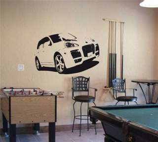 PORSCHE CAYENNE Wall Decor Vinyl Decal Sticker Car 40