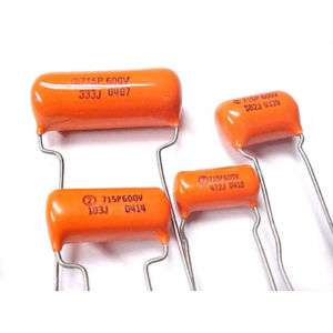 Sprague Orange Drop capacitor 715P 0.001uF 600V 3 / $2