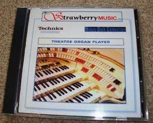 THEATRE ORGAN PLAYER Technics keyboards, organs, KN7000