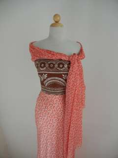 OSCAR DE LA RENTA Red Swirl Silk STRAPLESS LONG DRESS 4 Formal Gown w