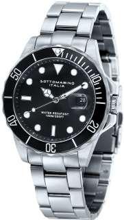 Men Silver Sapphire Crystal Watch Sottomarino SM50112 A