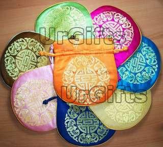 UrGifts     Handmade 30 pcs Gorgeous Wholesale Chinese Silk Gift Wrap