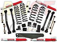 Skyjacker 4 5 Lift Kit 07 08 Jeep Wrangler JK #JK401K