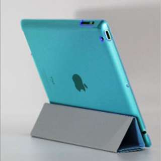 Front Cover + Back Hard Case for new Apple iPad 3 HD iPad3