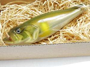 Lunkers Club Japan Topwater Hand made lure CO BASS Ayu 01 New