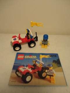 Baja Buggy Set # 6518 COMPLETE City Town Vehicle Car Truck Coast Guard