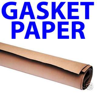 EXTRA LARGE SHEET GASKET PAPER 0.25MM NOT CORK 1m x1m