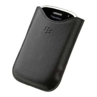 Genuine Blackberry 9800 Torch leather case sleeve